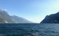 Lake Garda after a storm